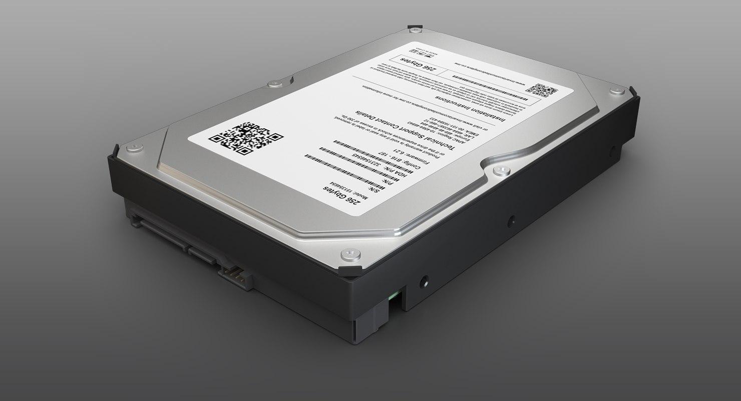 3D 3 hard drive