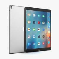 3D apple ipad pro 10 model