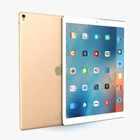 apple ipad pro 12 3D model