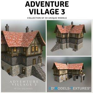 adventure village model