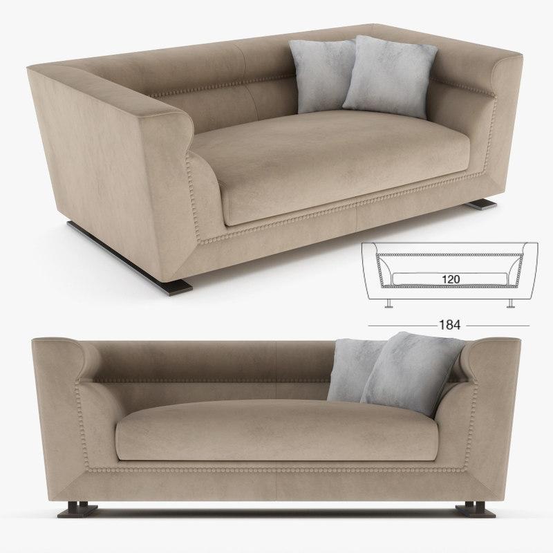 Longhi Sofa 3d Turbosquid 1206882