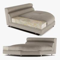 3D longhi sofa