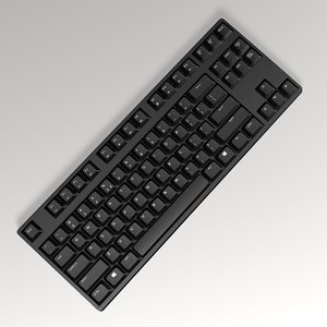 generic pc keyboard 3D