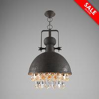 3D model modern lamps 3