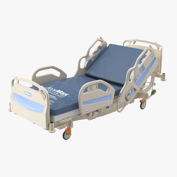 hospital bed hill-rom 3D model