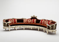 3D sofa asnaghi clermont