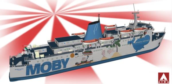 3D moby love model