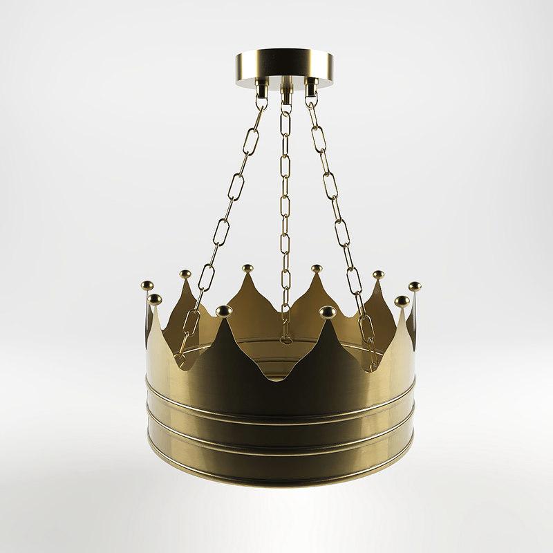 king crown lamp model