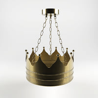 Kings crown lamp