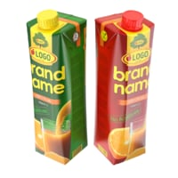 Juice Carton Box