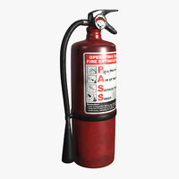 extinguisher 3D model