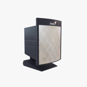 3D genius speaker model