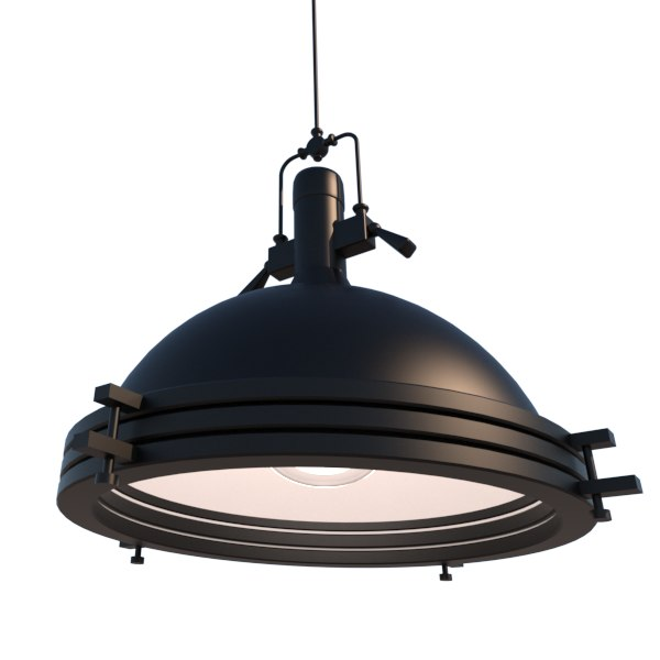 pendant light fixture 3D model