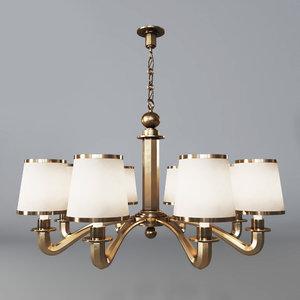 3D circa lighting tuileries chandelier model