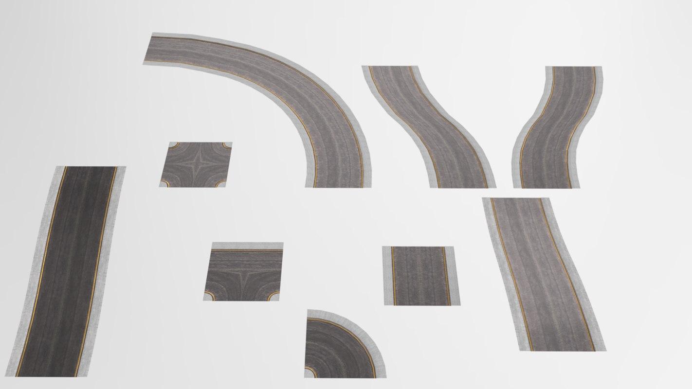 3D modular road pack
