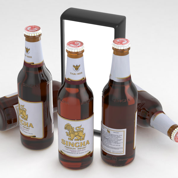 3D beer singha