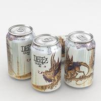 3D beer ale bevog