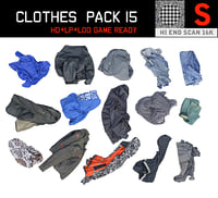 3D clothes floor pack 15