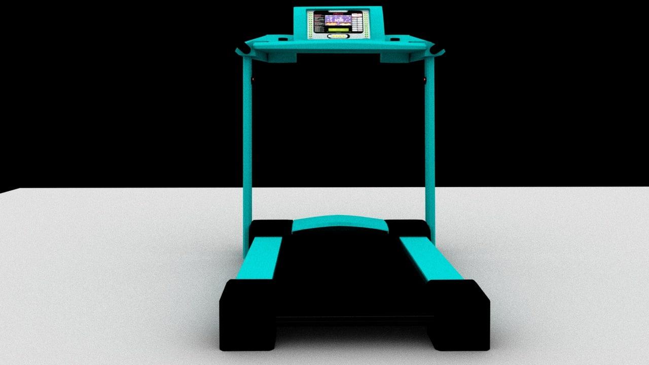 runing machine 3D model