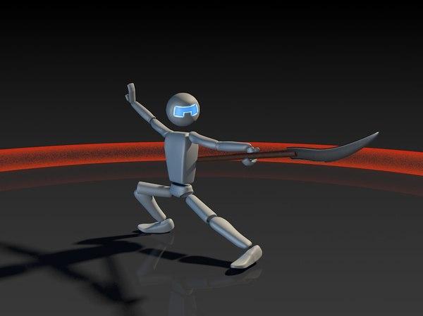 personnage 3D