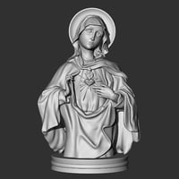 3D model virgin mary