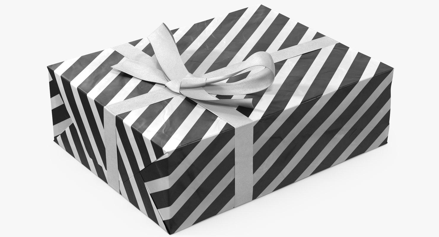 3D gift box 5 model