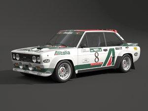 131 rally fiat 3D