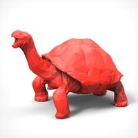 horse polygonal model