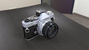 3D model camera olympus cam