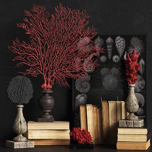 3D coral set 2 model