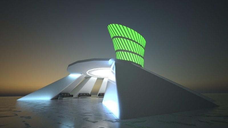concept architecture design 3D