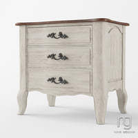 nightstand df831s11 3D model