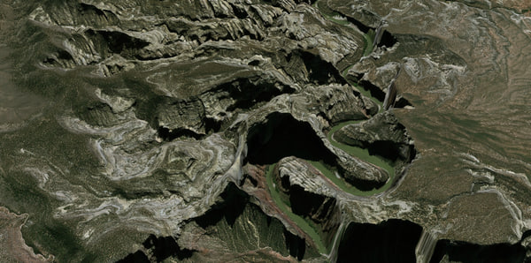 3D mesh yampa river