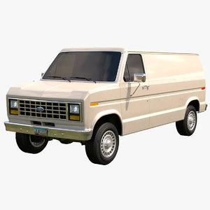 econoline 1983-1991 3D model