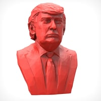 donald trump polygonal 1 model