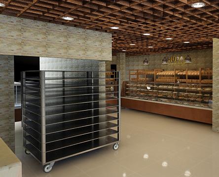 3D patisserie bread baker bakery