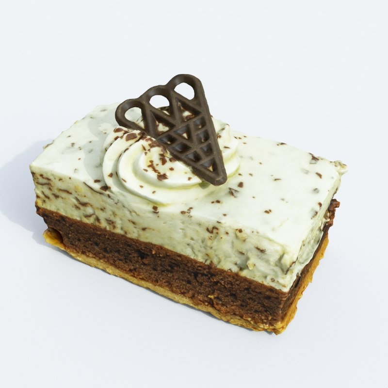3D cake model