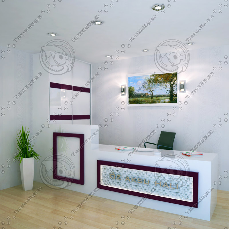 3D secretarial office