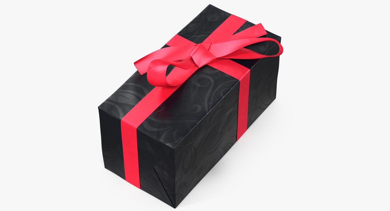gift box 7 3D model