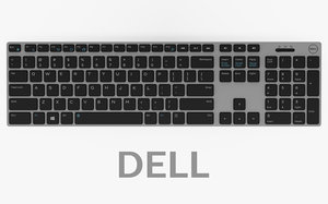 dell km717 premier wireless 3D