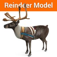 ReinDeer low poly model