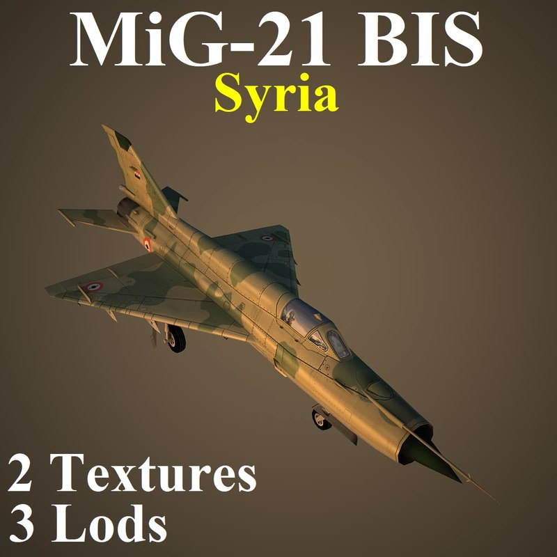 mikoyan bis sir 3D model