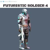 Futuristic Soldier 4