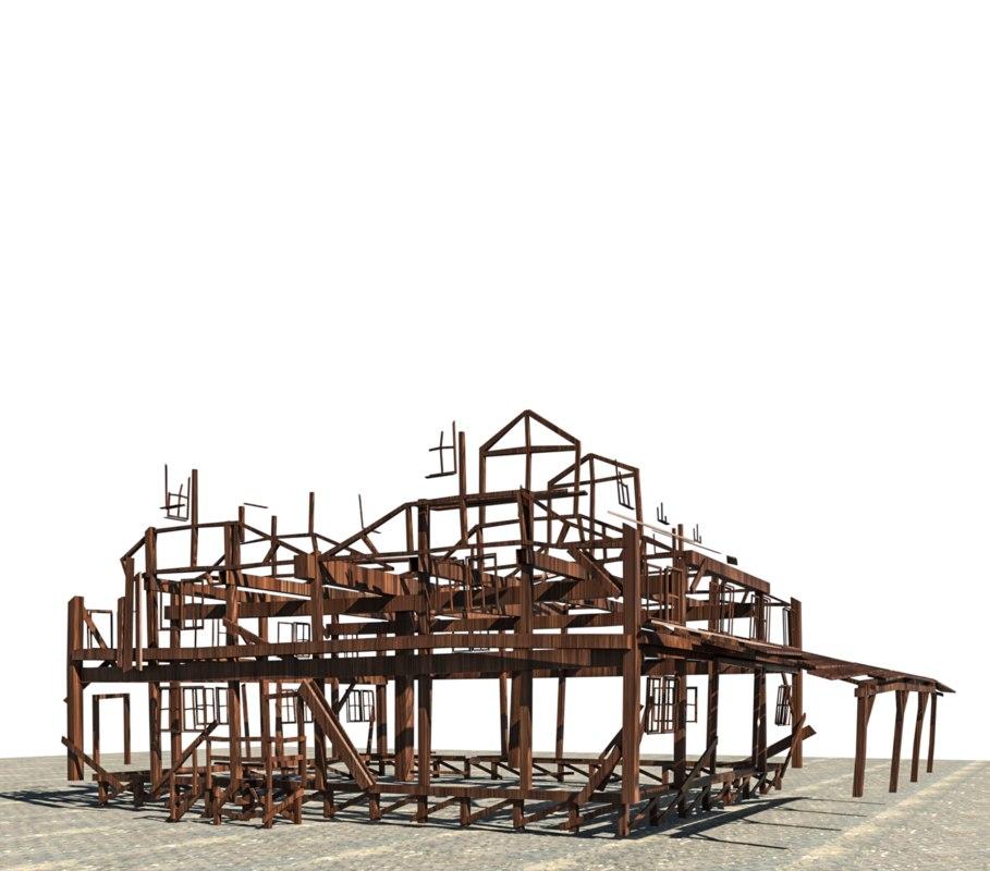 3D model old house revit