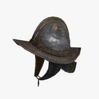 helmet conqueror s 3D model