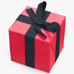 gift box 8 3D