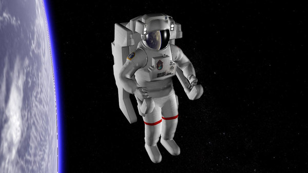 astronaut nasa 3D model