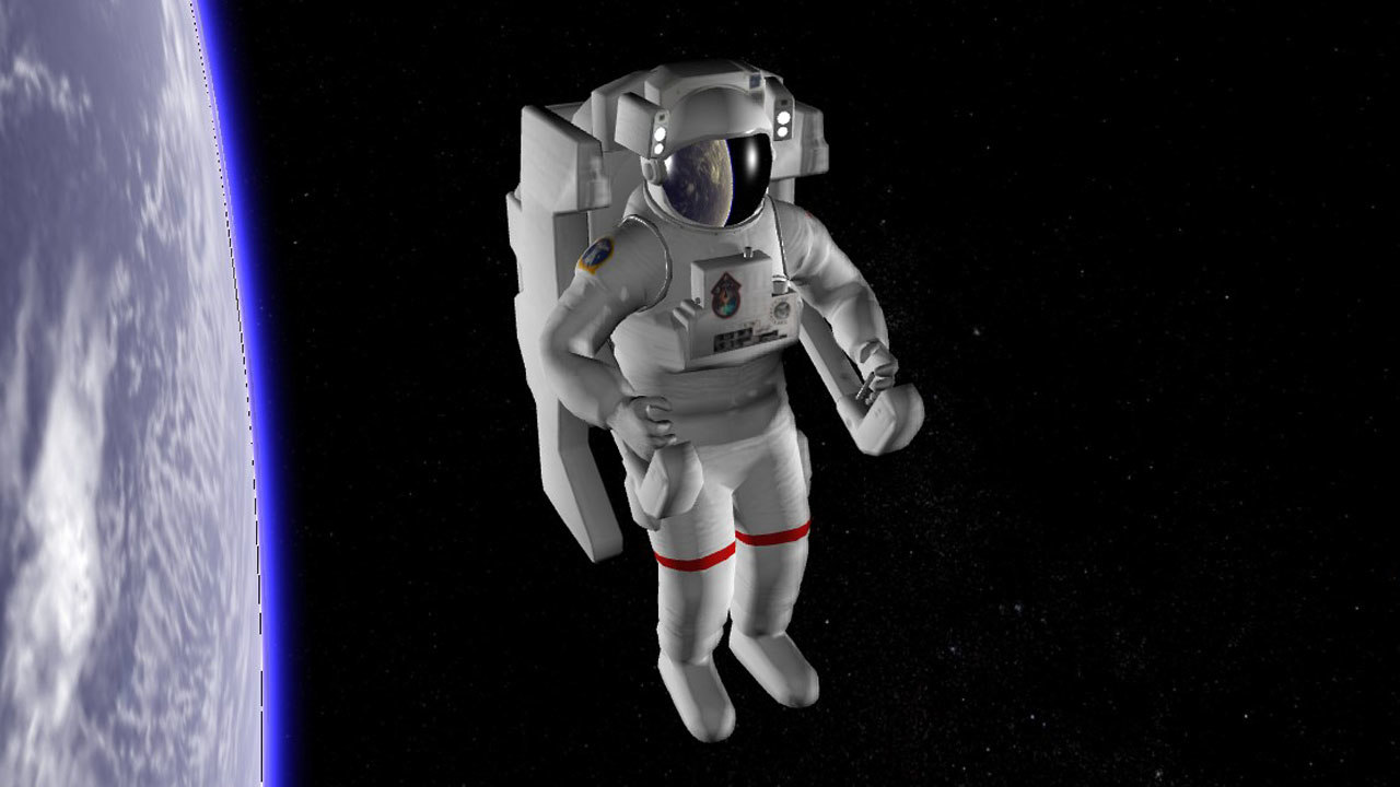 astronaut nasa 3D model