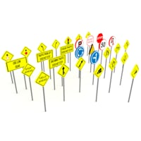 Street signs - traffic signs