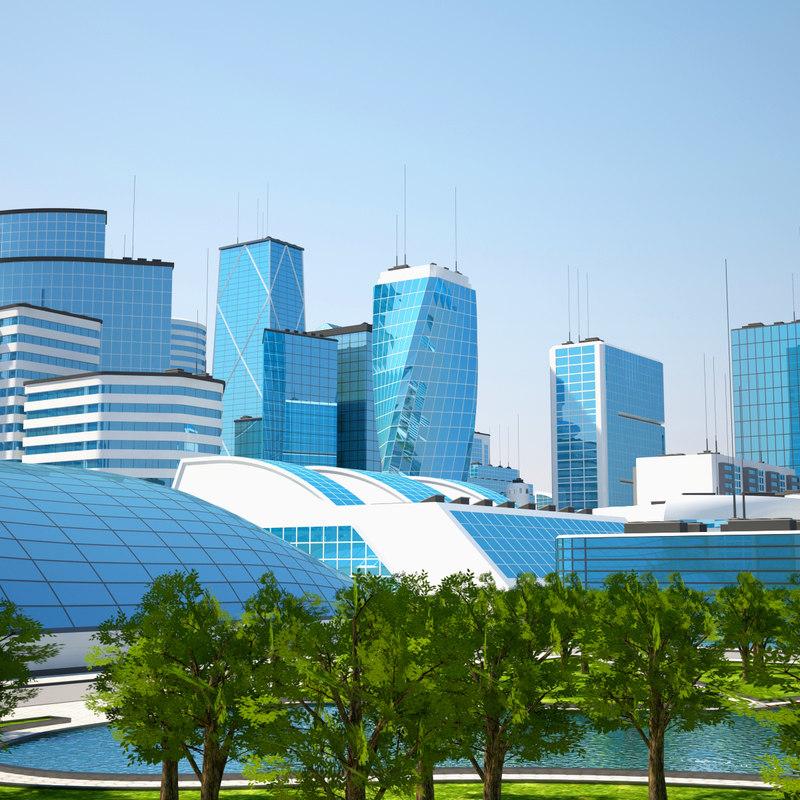 3D mega city 2 model